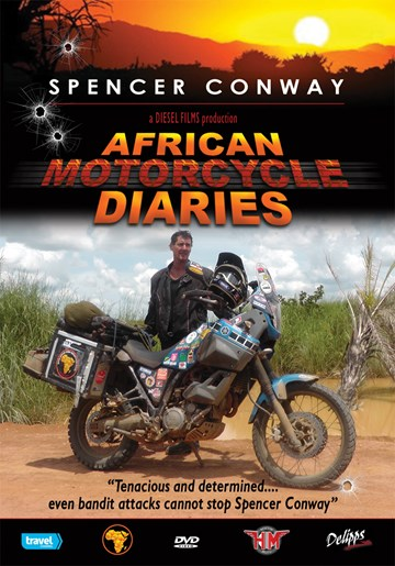 African Motorcycle Diaries DVD - click to enlarge