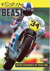 Flick the Beast : Kevin Schwantz GP Year 1989  DVD
