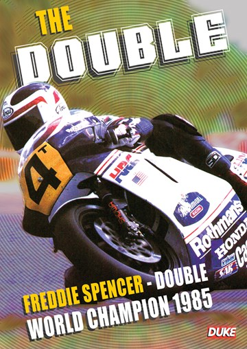 The Double: Freddie Spencer Double World Champion 1985 DVD - click to enlarge