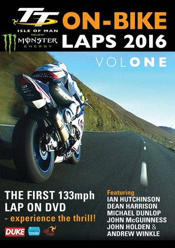 TT 2016 On-Bike Laps Vol 1 DVD - click to enlarge