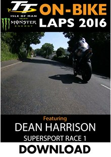 TT 2016 On-Bike Monday Supersport Race 1 Dean Harrison Download