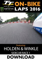 TT 2016 On-Bike Saturday Sidecar Race 1 J Holden Andy Winkle Lap 2 Download
