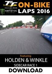 TT 2016 On-Bike Saturday Sidecar Race 1 J Holden Andy Winkle Lap 2 Download