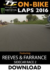 TT 2016 On-Bike Sidecar Race 2 Tim Reeves and Patrick Farrance Download