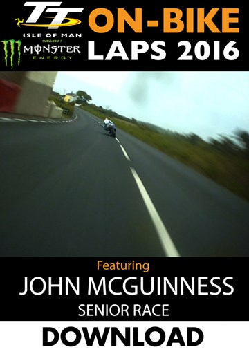 TT 2016 On-Bike Senior Race John McGuinness Download - click to enlarge