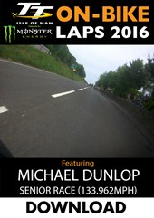 TT 2016 On-Bike Senior Race Michael Dunlop Download