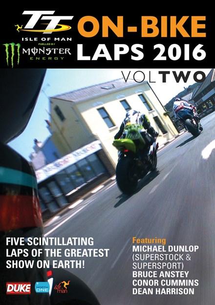 TT 2016 On-Bike Laps Vol 2 DVD