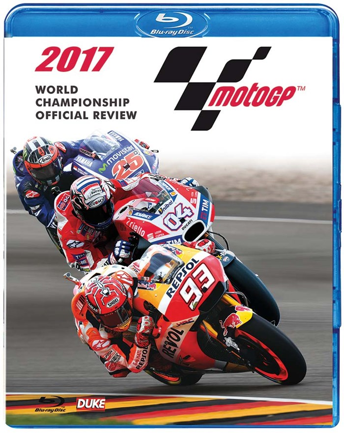 MotoGP 2017 Review Blu-ray