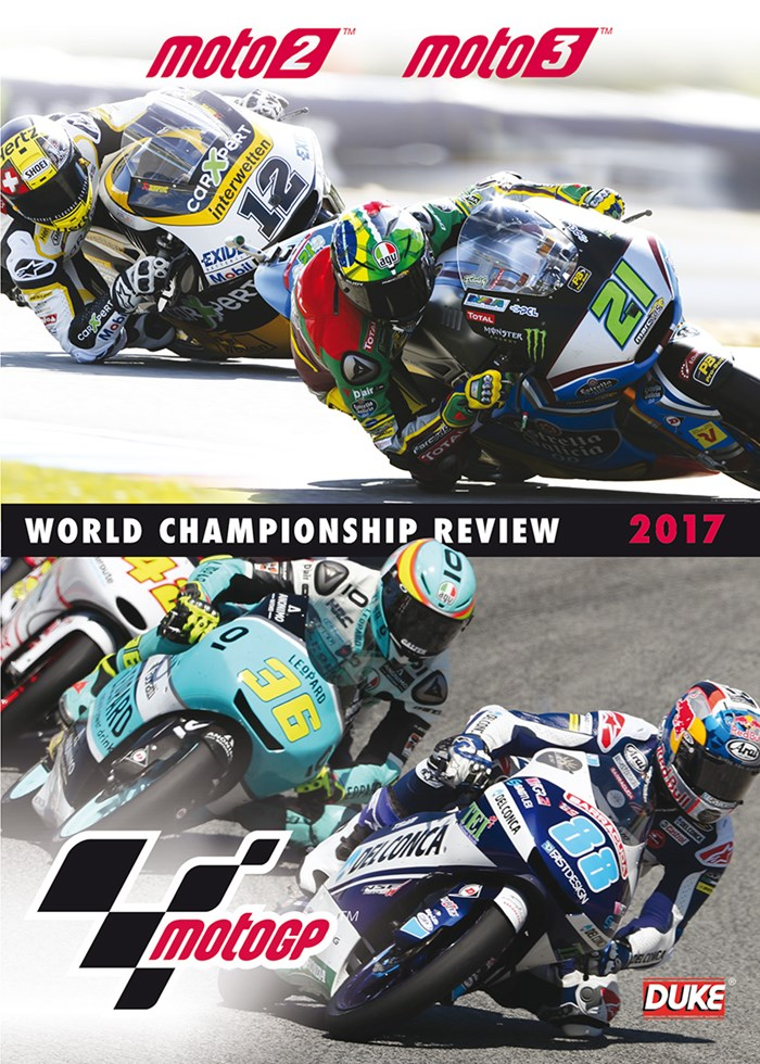 MotoGP 2/3 2017 Review DVD