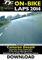 TT 2014 On-bike Laps Cameron Donald Superbike Race Download