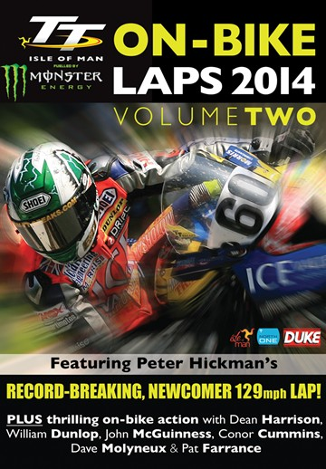 TT 2014 On-bike Laps Vol 2 DVD - click to enlarge