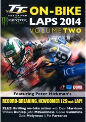 TT 2014 On-bike Laps Vol 2 DVD Signed by Peter Hickman