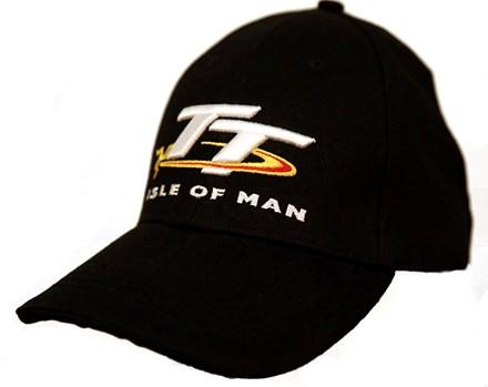 TT Cap Black with Logo