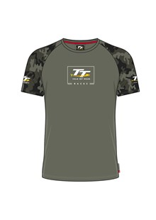 TT Custom T-Shirt Army  Green