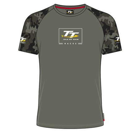 TT Custom T-Shirt Army  Green - click to enlarge