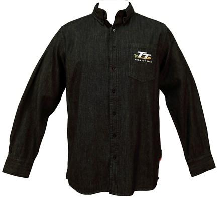TT Denim Shirt Black - click to enlarge