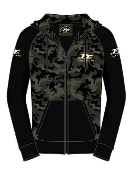 TT Camouflage Hoodie - click to enlarge