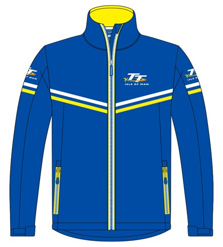 TT Softshell Jacket Blue - click to enlarge
