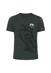 TT 2019 Shadow Bike T-Shirt Dark Heather