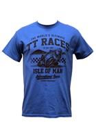 The Worlds Ultimate TT Races Est 1907 T- Shirt Royal Blue