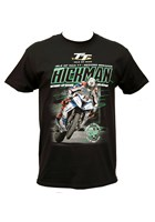 Peter Hickman Record Breaker T-Shirt Black