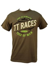 TT Ultimate Races T-Shirt Charcoal