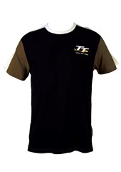 TT Vintage T-Shirt Navy,White/Grey Sleeve
