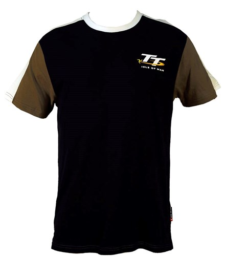 TT Vintage T-Shirt Navy,White/Grey Sleeve - click to enlarge