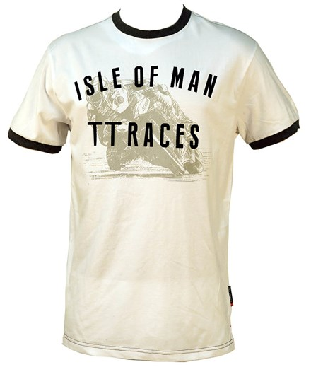 TT Vintage T-shirt White - click to enlarge