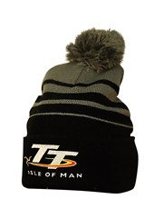 TT Bobble Hat Black/Grey