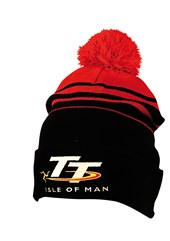 TT Bobble Hat Black/Red