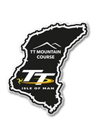 TT Fridge Magnet, Mountain Course & TT Logo