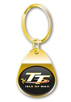 TT Keyring Gold Gilt
