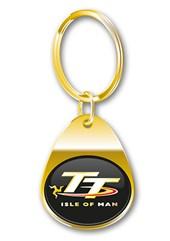 TT Keyring Gold Gilt