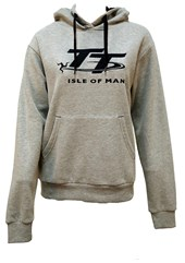TT Ladies Hoodie Grey/Navy