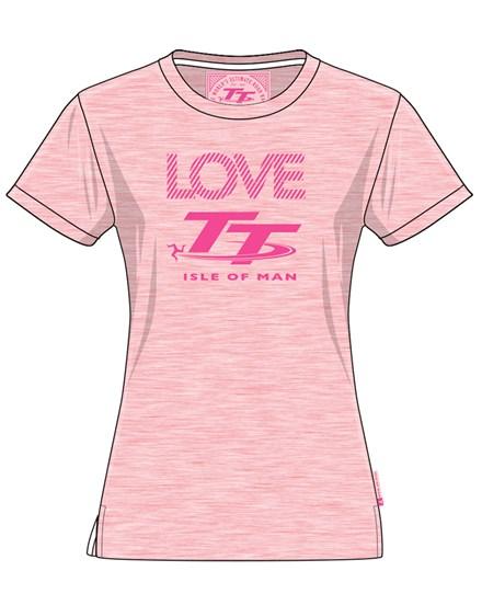TT Ladies T-shirt Pink - click to enlarge
