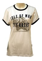 TT Ladies Vintage T-shirt White