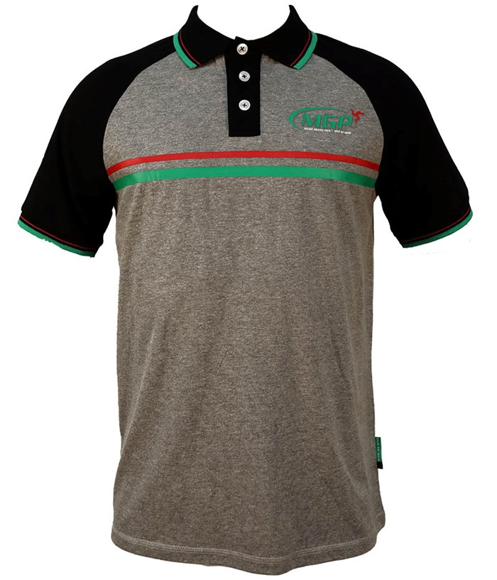Manx Grand Prix Polo Shirt - click to enlarge