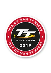 TT 2019 Logo Sticker Small