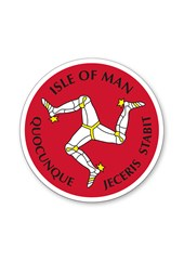 Three Legs Isle of Man Sticker