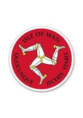 Three Legs Isle of Man Sticker