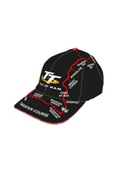 TT Childs Black Map Cap