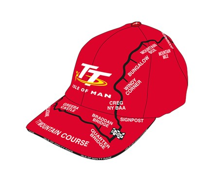 TT Childs Map Cap Red