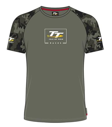 TT Childs Custom T-Shirt Army Green