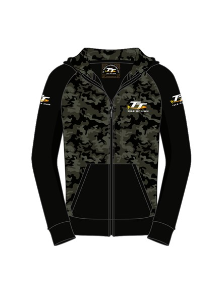 TT Childs Camouflage Hoodie - click to enlarge