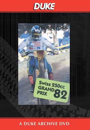 Motocross 250 GP 1982 - Switzerland Duke Archive DVD - click to enlarge