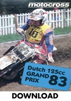 Motocross 125 GP 1983 Holland Download