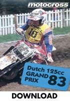 Motocross 125 GP 1983 Holland Download
