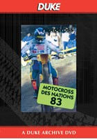 Motocross Des Nations 1983 Duke Archive DVD