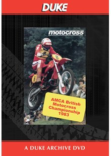 Motocross AMCA 1983 - Britain Duke Archive DVD
